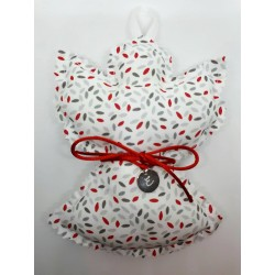 Coussin Ange Argent