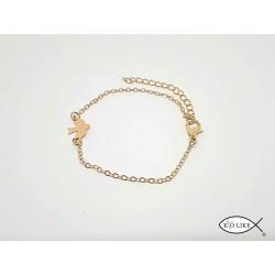 Bracelet Esprit Saint - Colombe Dorée