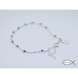 Bracelet Argent Dizanier 4mm