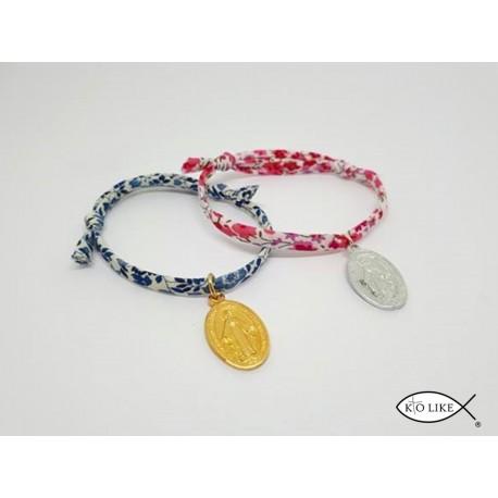 Bracelet liberty & médaille