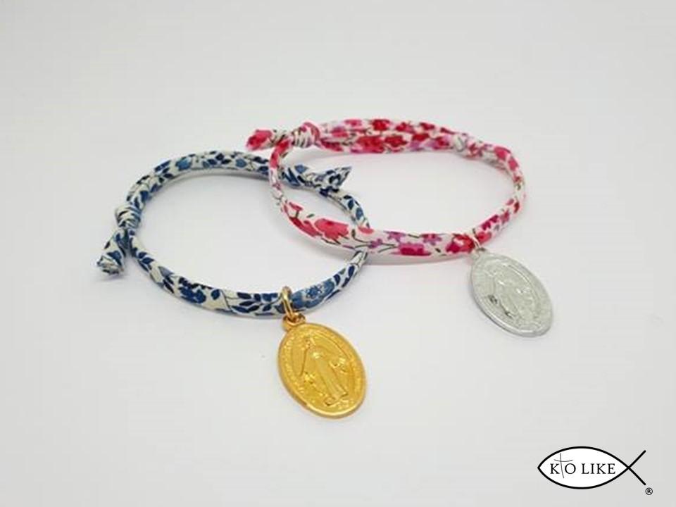 usine authentique f8fb6 7b08e Bracelet liberty Médaille Vierge Miraculeuse