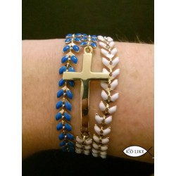 Bracelet Epi Croix