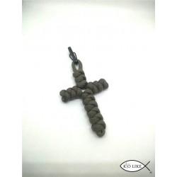 Croix porte clef paracorde