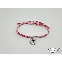 Bracelet liberty croix